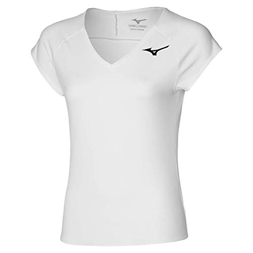 Mizuno T-Shirt-62GA1211 T-Shirt, Bianco, XL Donna