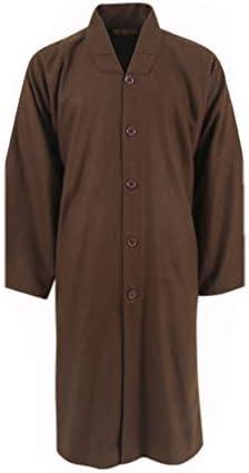 ZanYing Camisa larga tradicional monje para hombre, blusa ...