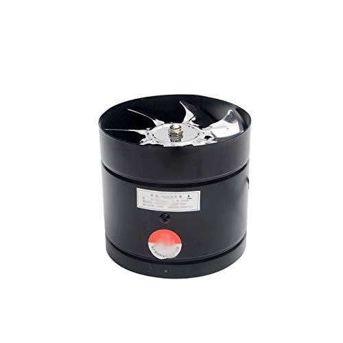 XZJJZ Ventilador de Escape de Inodoro de Cocina de 8 Pulgadas, Ventilador de Escape de Tubo de 8 Pulgadas, Ventilador de Techo, Extractor de Metal