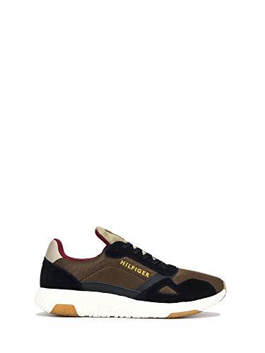 Tommy Hilfiger FM0FM02839 - Zapatillas deportivas de tela para hombre