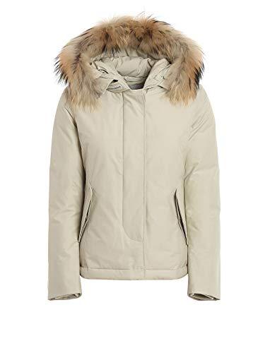 Luxury Fashion | Woolrich Dames WWCPS2799UT0001WHG Beige Polyamide Outerwear Jassen | Seizoen Permanent
