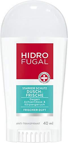 Hidrofugal Dusch-Frische Deo-Stick mit Frischeduft, Anti-Transpirant für wirksamen Schutz gegen Schweiß, 1er Pack (1 x 40 ml)