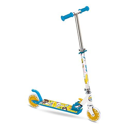 Mondo Toys, Monopattino in Alluminio per Bambino e Bambina LLAMA & FRIENDS, Manubrio Regolabile, 2 Ruote, 28578