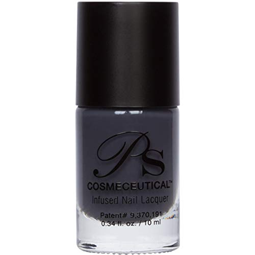 PS Polish All Natural Nail Polish, Safe Non-Toxic Professional Grade Nail Art and Polish Nail Lacquer, Best Nail Polishes for Manicure, Pedicure, Hands, Feet and Nails (Courageous)