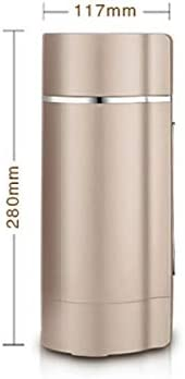MFKSLEIBDL Entièrement automatique Soymilk Appareil multifonction Juicer chauffage du soja lait Juicer Stir riz pâte Maker 350ml sans filtre (Color : B) B