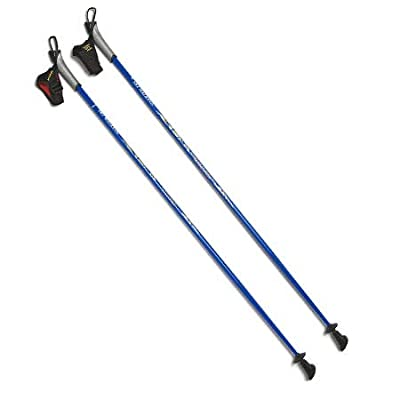 Real Nordic Walking Poles from SWIX of Norway. Life Time Warranty. 32 Lengths. #1 for Hiking, Trekking, Physical Therapy. Safer, Lighter, Stronger Than Flimsy Collapsible Poles from China