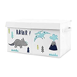 8. Sweet Jojo Designs Mod Dinosaur Collection Storage Box