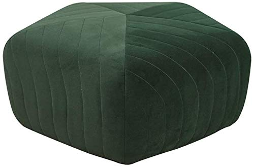 Woonkamer stoel Origami Stervorm zitzak Bed Chair - Bean Bag Recliner Kussen, indoor en outdoor Garden Lounge Gamer Chair Foot Kruk, Poef/Bank (Kleur: Roze) (Color : Green)