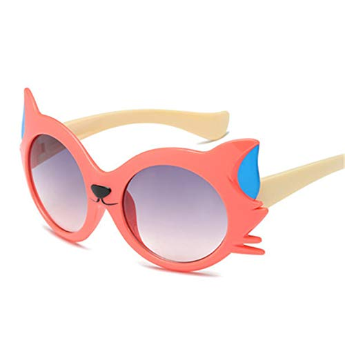 Hengtaichang Sunglasses NEW Fashion Kid's Sunglasses Boys Girls Child Lovely Cartoon Cat Eye Sun Glasses Gradient Lens Eyewear UV400 Shades Goggle. 6149-7
