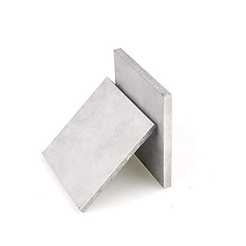 Titanplatte UNS Gr1 TA2, reines Titan, Industrie- oder Heimwerkermaterial, 2 x 100 x 150 mm