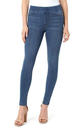 Liverpool Women's Sienna Legging Pull-On Denim Jean 30' Inseam