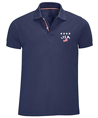 Supportershop USA 4 Sterne Champions Polo Shirt (XXL)