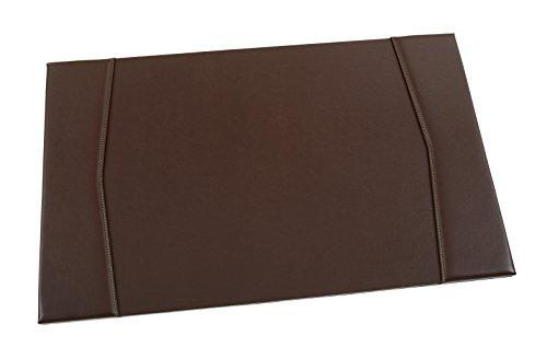 Le sous-main de bureau en cuir Maruse 65 x 40 cm