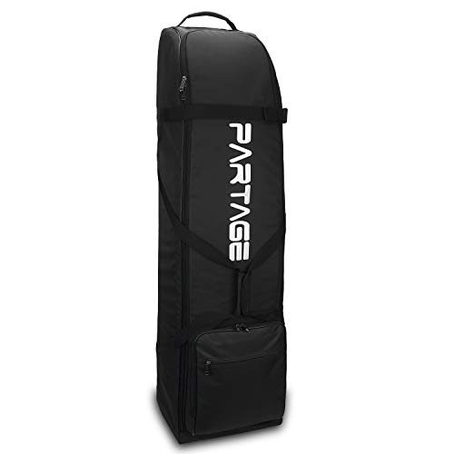 Partage Golf Travel Bag,Golf Travel Case for Airlines -Black