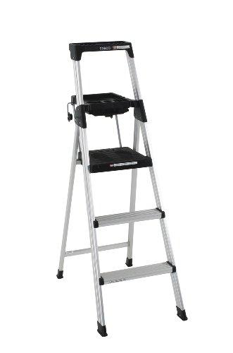 of cosco ladders Cosco 20-502ABL Signature Series Premium 5-Foot Aluminum Step Ladder