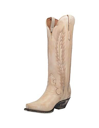 "Dan Post Women's Valli 16"" Boot, Off White - 9.5 M"