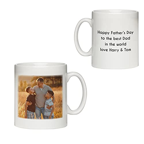 Personalised Fathers Day Mug   Daddy Gifts from Daughter Son   Custom Dad...