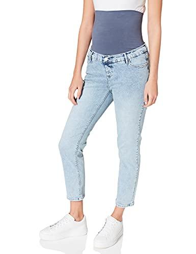 Esprit Maternity Pants Denim OTB boyfr 7/8 Jeans, Lightwash-950, 44 para Mujer