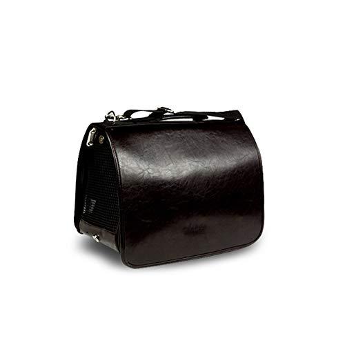 Aida Bz Pet Bag Fournitures Chien Chat Sac à Dos Chien Bag Sac de Chat en Plein air Sac de Voyage Sac de Transport de Sac de Chien,Black,S