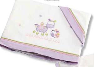 Bright Brands Sportsgoods Fran.Alg.67289-Burrito Malva 11 Couvre-lit pour enfant