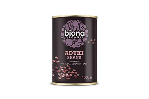 Biona Organic Aduki Beans 400 g (opakowanie 12)