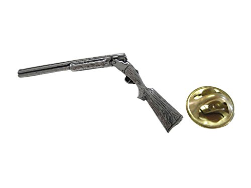 Kiola Designs Over Under Shotgun Pendant Lapel Pin