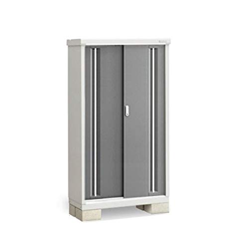 イナバ物置 MJX/シンプリー MJX-094DP 長もの収納タイプ 『屋外用収納庫 DIY向け 小型 物置』 PG(プレミアムグレー)