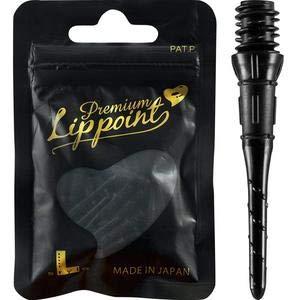 LSTYLE Dart Tips  Premium Lippoint - 2BA Standard Thread - Plastic Soft Tip Dart Points - Black