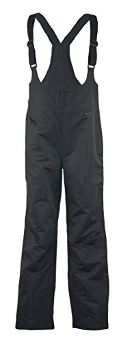 Pulse Women's Insulated Ski Bib Waterproof Black (Black, 1X)