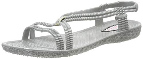 Siebi's TENNO 160050 Wellness Badeschuhe und Badesandalette Damen: Größe: 41 EU | Farbe: Grau
