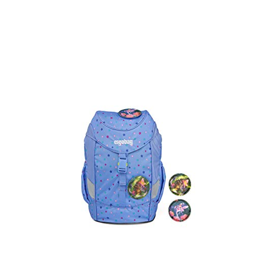 ergobag mini - ergonomischer Kinderrucksack, DIN A4, 10 Liter - Bärzaubernd - Blau