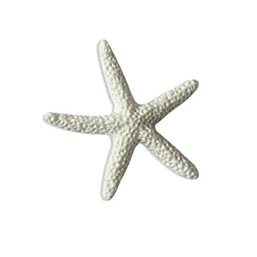 TELLW Étoile de mer en résine - Étoile de mer méditerranéenne - Accessoire pour photographie de paysage.