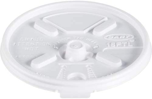 Dart Container Corp Fold Tab Cup White 1000 Lids; 16oz; CT; Popular shop is the lowest Max 66% OFF price challenge