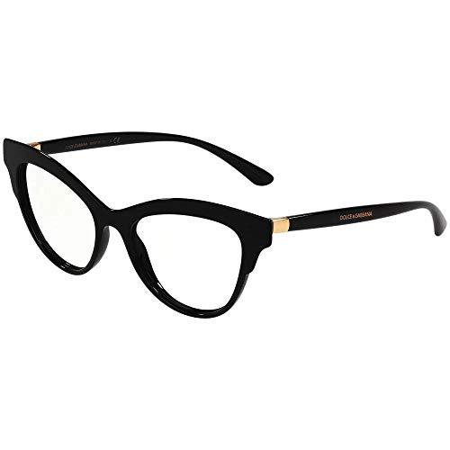 Eyeglasses Dolce & Gabbana DG 3313 501 Black/Clear Lens