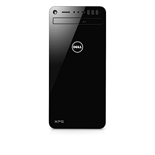 Dell XPS 8930-7814BLK-PUS Tower Desktop i7-8700 32GB DDR4 RAM, 1TB Hard Drive + 16GB Intel Optane Memory, 6GB Nvidia GeForce GTX 1060, DVD Burner, Windows 10 Pro, Black (Renewed)