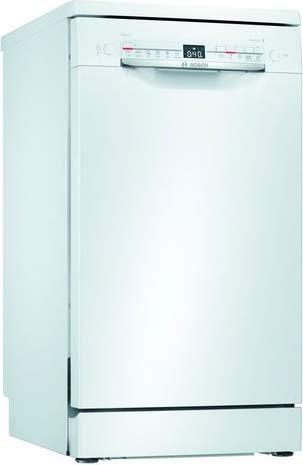 Bosch Electrodomésticos SPS2HKW59E Serie 2 - Lavavajillas de libre posicionamiento, 45 cm, color blanco
