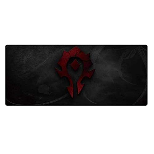 Gaming Mouse Pad Large Mouse Mat World of Warcraft Wow Hearthstone Game Keyboard Mat Extended Mousepad for Computer PC Mouse Pad (Color : 8, Size : 8003003mm)