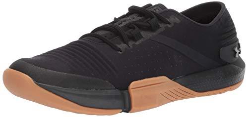 Under Armour Men's Speedform Feel Cross Trainer Sneaker, Black (001)/Black, 11