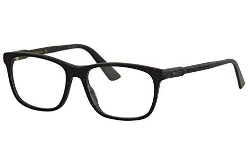 Gucci Brille für Vista GG0490O 006 schwarz rahmenmaterial: kunststoff größe 55 mm brille mann
