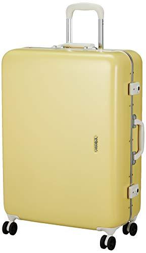 [サンコー] SERIES-R スーツケース セリエス 静音双輪キャスター ステッカー付 キャスターカバー付 75L 66 cm 5.2kg イエロー
