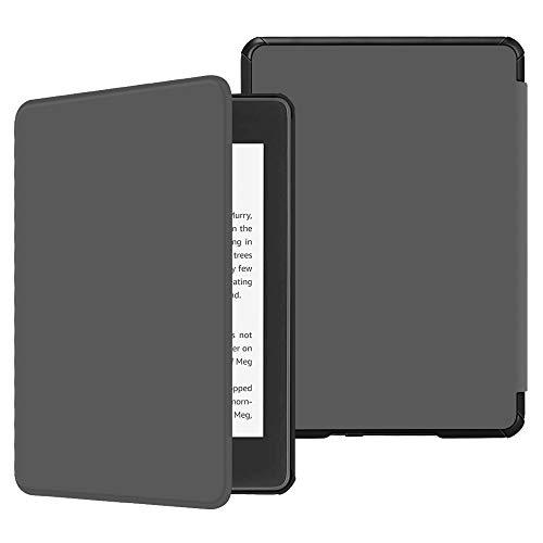Capa para Kindle Paperwhite (aparelho à prova d`água) - rígida - sistema de hibernação - Cinza