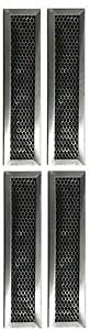 (part new) (4) Range Vent Hood Charcoal Filters Compatible with