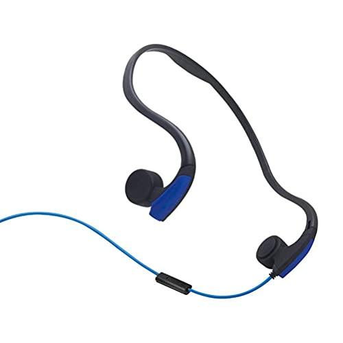 QNZ Auriculares Bluetooth para Correr, Auriculares de conducción ósea Inalámbricos, Auriculares Abiertos Impermeables Bluetooth 5.0 para Deportes Escuchar Ciclismo Correr Gimnasio
