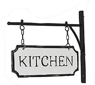 AT Vintage Metal Hanging Sign Wall Hanger Decor (Kitchen)