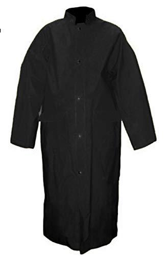 Viking Herren Open Road PVC-Mantel, Herren, Open Road PVC Long Coat Black, schwarz, Medium
