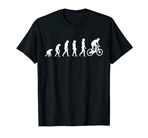 Fahrrad T-Shirt Design Bike Evolution