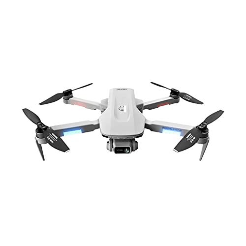 HSTG Drone, cámara de Gran Angular, transmisión Dual en Tiempo Real, Juguetes de helicóptero Mini con niños, Regalos Plegables, Trayectoria de Vuelo de Vuelo