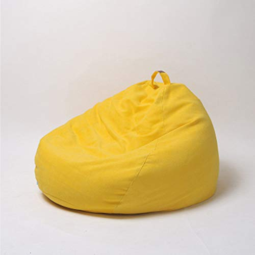 HEIFEN Einfarbig Sitzsack Faule Sofa Sitzsack Sofa Kurze Kaschmirjacke Einfach Für Schlafzimmer Wohnzimmer Balkon Größe 90 cm * 110 cm (39,37 Zoll * 47,24 Zoll)