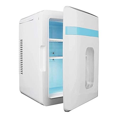 JNYB Mini refrigerador de 10L, Mini congelador, refrigerador Compacto de Gran Capacidad y Calentador Utilizado para enfriamiento y calefacción de refrigeración y congelador de calefacción