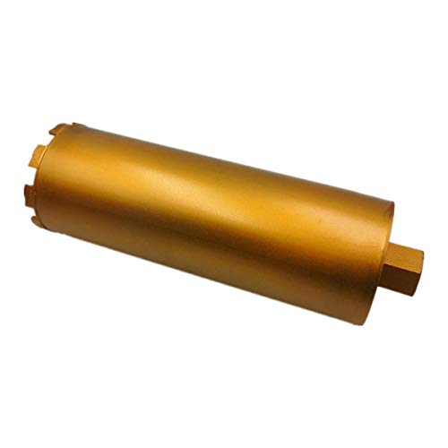 5' Wet Drill Core Bits for Hard Concrete, Stone, Brick, and Block - Ø 127 / 350mm Length